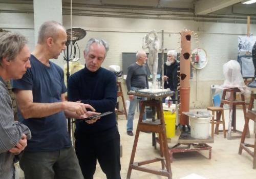 Gratis workshops in de Stedelijke Academie voor Beeldende Kunst